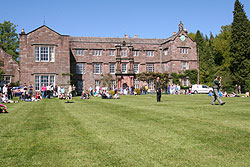 Browsholme Hall in the Forest of Bowland